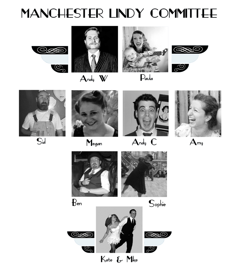 Manchester Lindy Committee 2015